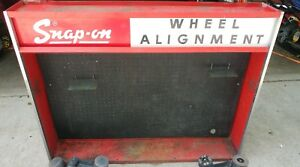 Snap On Wheel Alignment Tools Cabinet W 4 Wa95 Optical Toes Plus Asstd Tools