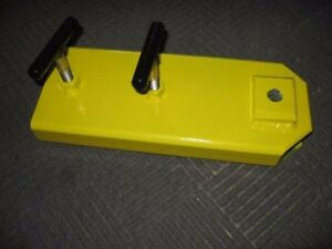 Large Clamp on Forklift Towing Attachment over 5 w Forks