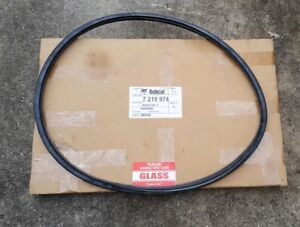 Bobcat Back Glass Window With Seal And Cord Skid Steer Rear