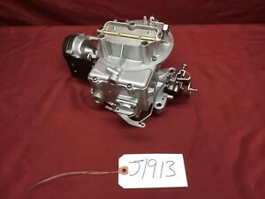 Rebuilt Motorcraft 2100 2 Barrel Carburetor 1 21 360 390 Auto 1972 Ford Truck