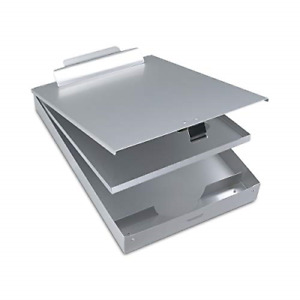 Metal Clipboard with storage Box Aluminum Clipboards With Metal Binder With And