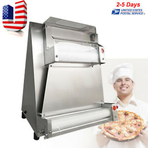 110v Automatic Pizza Dough Roller Sheeter Machine Pizza Making Machine 0 5 5 5mm
