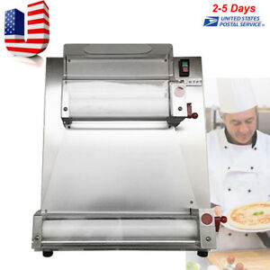 Automatic Electric Pizza Dough Roller sheeter Machine pizza Making Machine 110v
