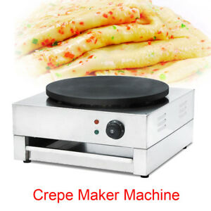 Perfect Crepe Maker And Pancake Maker Electric Griddle Machine Non stick Pans Ce