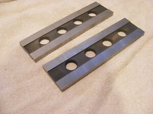 Cnc Machinist Parallels Set Of 2 2 100 X 378 X 7 75 Hardened Steel Ground