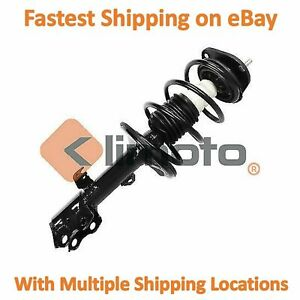 Front Right Strut Fits 2009 2010 Toyota Corolla Matrix Excludes Xrs