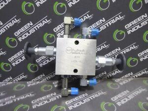 New Sun Hydraulics 1104 a2 Cross Over Relief Valve Assembly