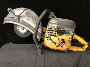 Partner K700 Concrete Saw Handheld Gas Engine Cutter Chop Power Saw