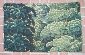 A Great Antique Verdure Tapestry Fragment