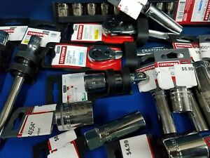 Craftsman Huge Lot Of New Ratchets Sockets Extensions