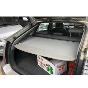For 2010 2015 Toyota Prius Grey Luggage Cargo Cover Shield Security Trunk Shade