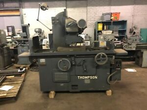 10 X 24 Thompson Surface Grinder Automatic Model B Toolroom Machine