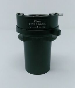 Nikon Microscope Condenser Elwd 0 3 od75 For Inverted