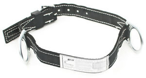 Miller By Honeywell 124n mbk Double D ring Lined Body Belt W 1 3 4 Webbing Med