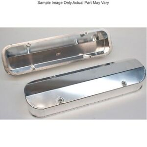 Prw 4045501 Fabricated Aluminum Valve Covers Pontiac 301 455