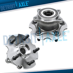 Rear Wheel Bearing Hub Set For 2006 2007 2008 2009 2010 2018 Toyota Rav4 4wd