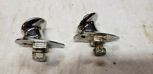 1931 Cadillac Lasalle Fender Parking Light Bases 10524 1930 New Chrome Reproduct