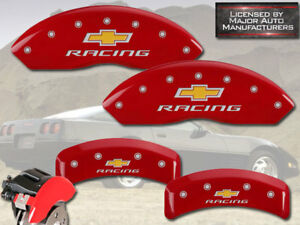 1988 1996 Chevy Corvette C4 Zr1 Front Rear Red Mgp Brake Caliper Covers Racing