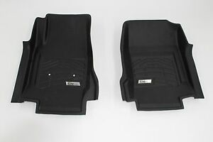 Front Sure Fit Floor Mats 2015 2018 Gmc Canyon