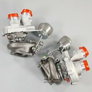 Twin Turbos 0469 0470 For 2013 Ford F 150 Transit Expedition Navigator 3 5l New