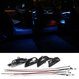 Dual Color Led Ambient Door Light Atmosphere Interior For Bmw F10 F11 2010 2016