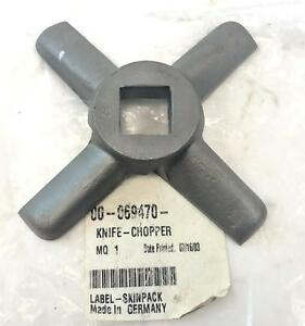 New Oem Knife 00 069470 For Hobart Commercial Meat Chopper Germany