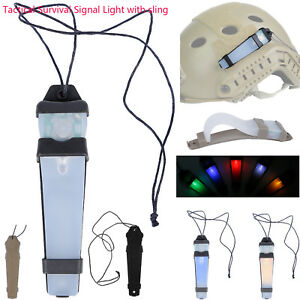 Tactical E-Lite Strobe Light Safety Lamp Survival Helmet LED Airsoft IR Signal