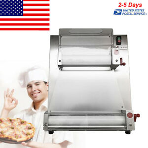 Automatic And Electric Pizza Dough Roller Machine Pizza Making Machine 15 Fda