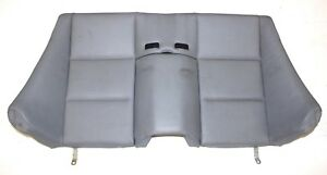Bmw Oem E46 Convertible Grey Leather Rear Seat Back Upper Cushion Gray Armrest