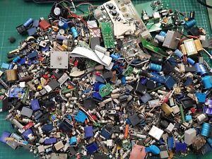 Electronic Components Used Components Lots Of Useful Parts