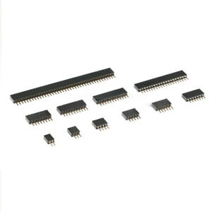 1 27mm Pitch 2 50 Pins Pcb Straight Female Header Pin Socket Single Row Strip