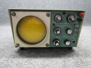 Vintage Heathkit Model Ev 3 Impscope Analog Oscilloscope stimulator tested