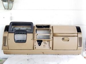 2001 2002 Jeep Tj Wrangler Camel Complete Dash Assembly Dashboard Oe