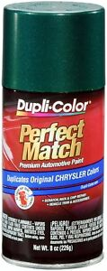 Dupli color Ebcc04237 Forest Green Pearl Chrysler Perfect Match Auto Paint 8 Oz
