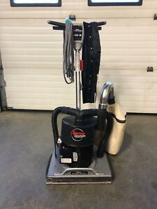 2015 Clarke American Obs 18 Dc Square Buff Floor Sander With Dust Skirt