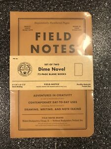 Field Notes Dime Novel Brand New Sealed Special Edition