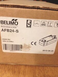 Belimo Actuator Afb24 s Nib Never Used