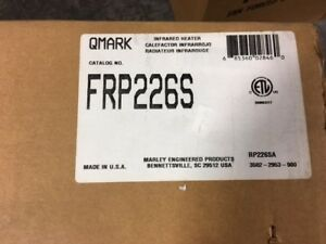 Qmark marley Radiant Infrared Heater 24 Inch Frp226s free Ship