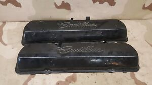 1966 Cadillac Fleetwood Brougham Valve Covers Oem Caddy