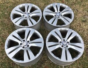 Set Of 4 20 Mercedes Benz Gl320 Gl350 Gl450 Gl550 Oem Wheels Rims