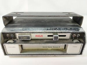 Vintage Rca Model 12 R 301 Car Compact Stereo 8 Track Player Untested 1970 s