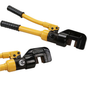 Industrial Grade Hydraulic Crimping Tool Large Battery Cable Lugs Awg