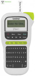 Brother P touch Pth110 Easy Portable Label Maker Lightweight 1 White