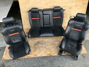 Dodge Challenger Srt8 Srt Oem Front Rear Interior Leather Chair Seats Seat
