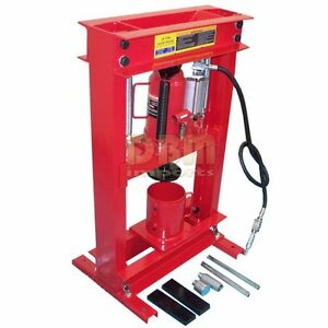 20 Ton Shop Press Oil Filter Crusher Air Hydraulic Free Shipping