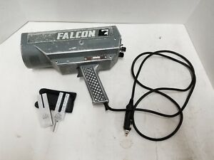 Kustom Signals Falcon Police Radar Gun Tested Working W 2 Tuning Forks