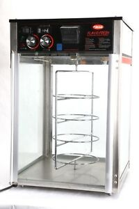 Hatco Fdw 1 Flav r fresh 4 tier Revolving Pizza Warmer display Cabinet