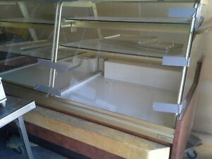Candy Display Case Non refrigerated For Pastries Chocolates 8 Ft