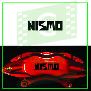 4x Nismo Nissan Decal Sticker For Caliper High Quality Reproduction Brake