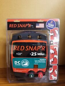 Red Snap r 25 Mile Battery Operated Low Impedance Fence Charger